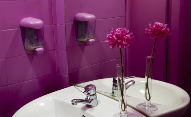 Até o WC é um espaço onde apetece estar